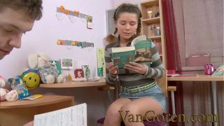 anal sex for young Russian slut to early for a baby