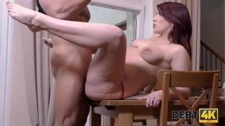 DEBT4k. Debt collector will give the woman time in exchange