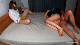 Impregnating Wifes Blonde BFF While She Is Watching