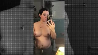 Liz Vicious Half Naked with (Shocking Announcement)