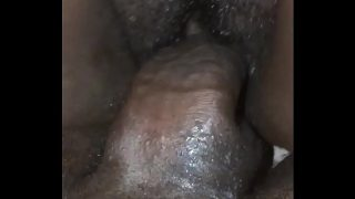 Sex with pregnant wife at home
